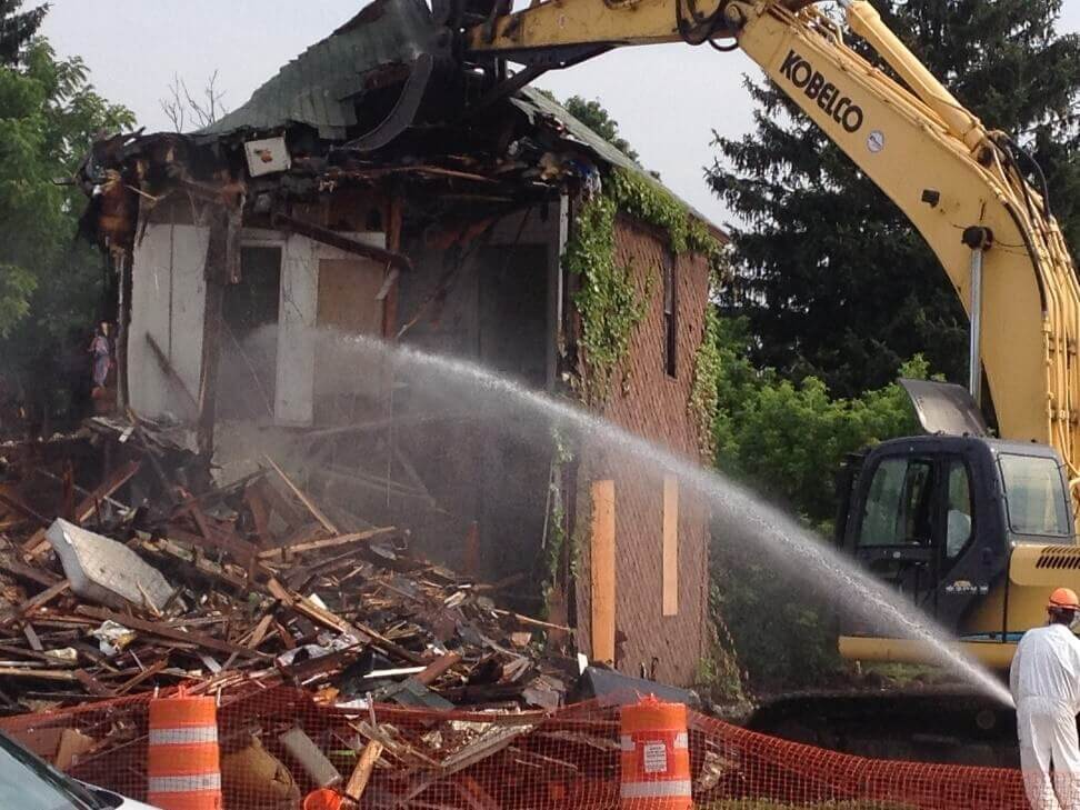 abatement and demolition contracting services in new york